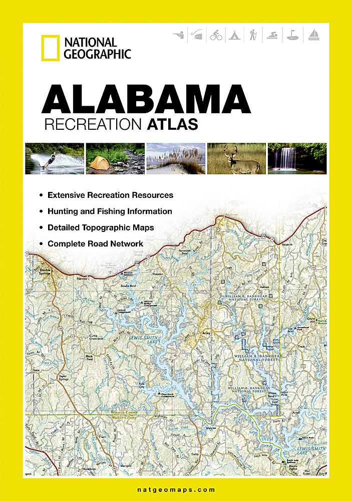 Alabama Recreation Atlas Recreation Atlases EVMAPLINK