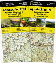 Load image into Gallery viewer, Appalachian Trail: Georgia North Carolina Tennessee [Map Pack Bundle] Trails Illustrated Maps Bundle EVMAPLINK