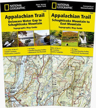 Load image into Gallery viewer, Appalachian Trail: New Jersey New York Connecticut Massachusetts [Map Pack Bundle] Trails Illustrated Maps Bundle Map-N-Hike