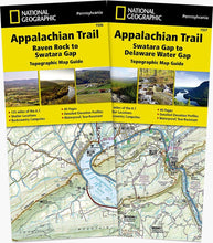 Load image into Gallery viewer, Appalachian Trail: Pennsylvania [Map Pack Bundle] Trails Illustrated Maps Bundle Map-N-Hike