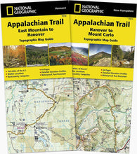 Load image into Gallery viewer, Appalachian Trail: Vermont New Hampshire [Map Pack Bundle] Trails Illustrated Maps Bundle Map-N-Hike