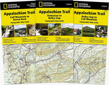 Load image into Gallery viewer, Appalachian Trail: Virginia West Virginia Maryland [Map Pack Bundle] Trails Illustrated Maps Bundle EVMAPLINK