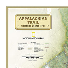 Load image into Gallery viewer, Appalachian Trail Wall Map In Gift Box Wall Maps Map-N-Hike