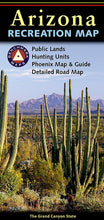 Load image into Gallery viewer, Arizona Recreation Map Benchmark Maps EVMAPLINK