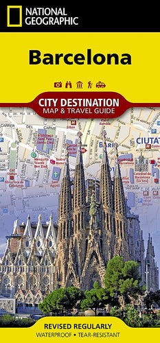Barcelona City Destination Maps EVMAPLINK