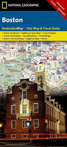 Boston City Destination Maps EVMAPLINK