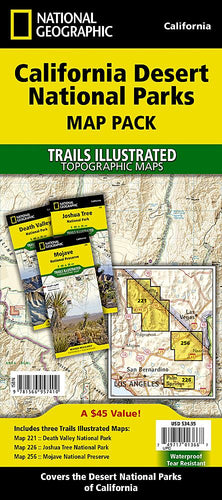 California Desert National Parks [Map Pack Bundle] Trails Illustrated Maps Bundle EVMAPLINK