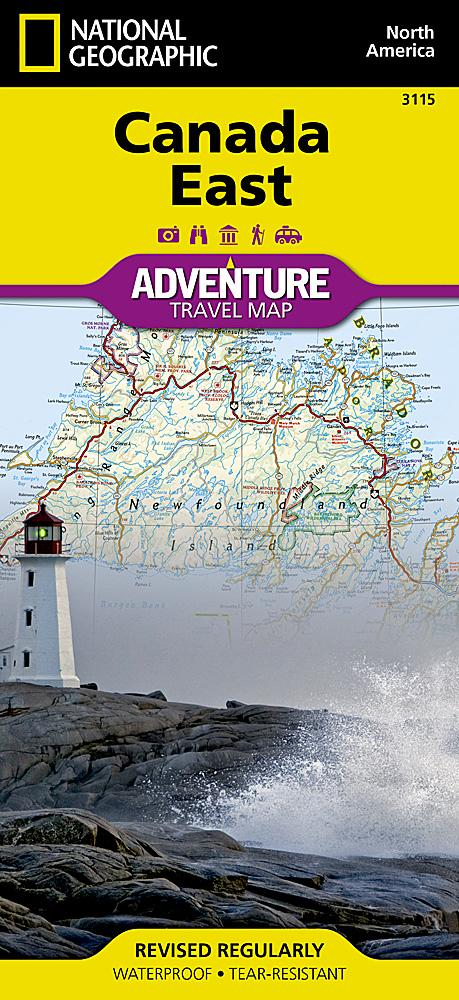 Canada East Adventure Maps EVMAPLINK