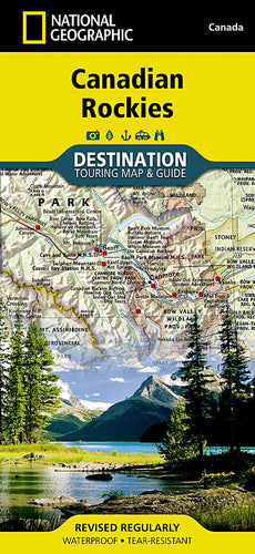 Canadian Rockies Destination Maps EVMAPLINK