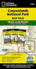 Load image into Gallery viewer, Canyonlands National Park [Map Pack Bundle] Trails Illustrated Maps Bundle EVMAPLINK