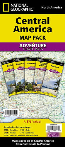Central America [Map Pack Bundle] Adventure Maps EVMAPLINK