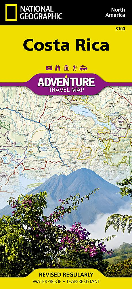 Costa Rica Adventure Maps EVMAPLINK