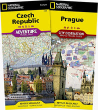 Load image into Gallery viewer, Czech Republic, Prague [Map Pack Bundle] Adventure Maps; City Destination Maps EVMAPLINK