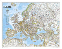 Load image into Gallery viewer, Europe Classic Wall Maps EVMAPLINK Tubed