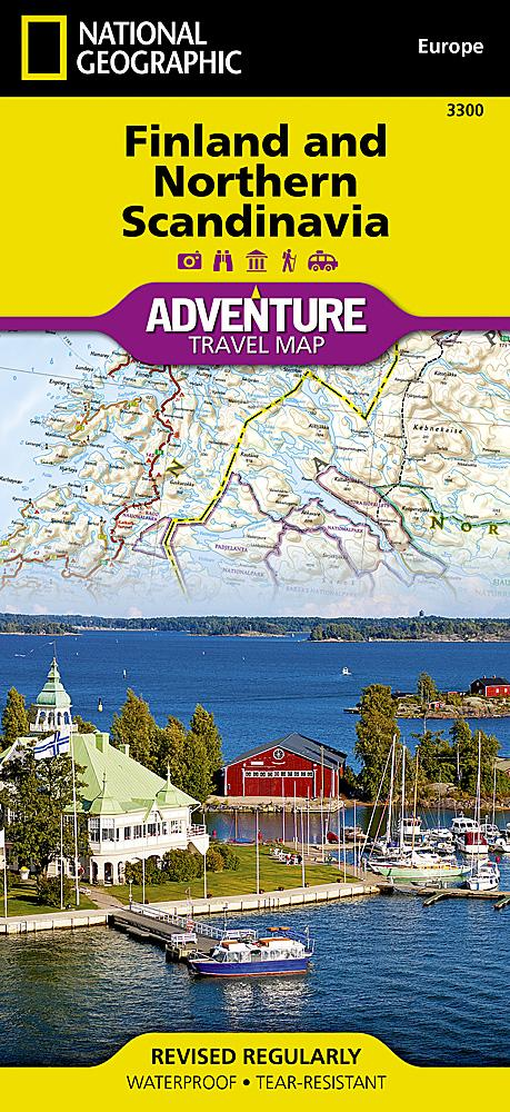 Finland and Northern Scandinavia Adventure Maps EVMAPLINK