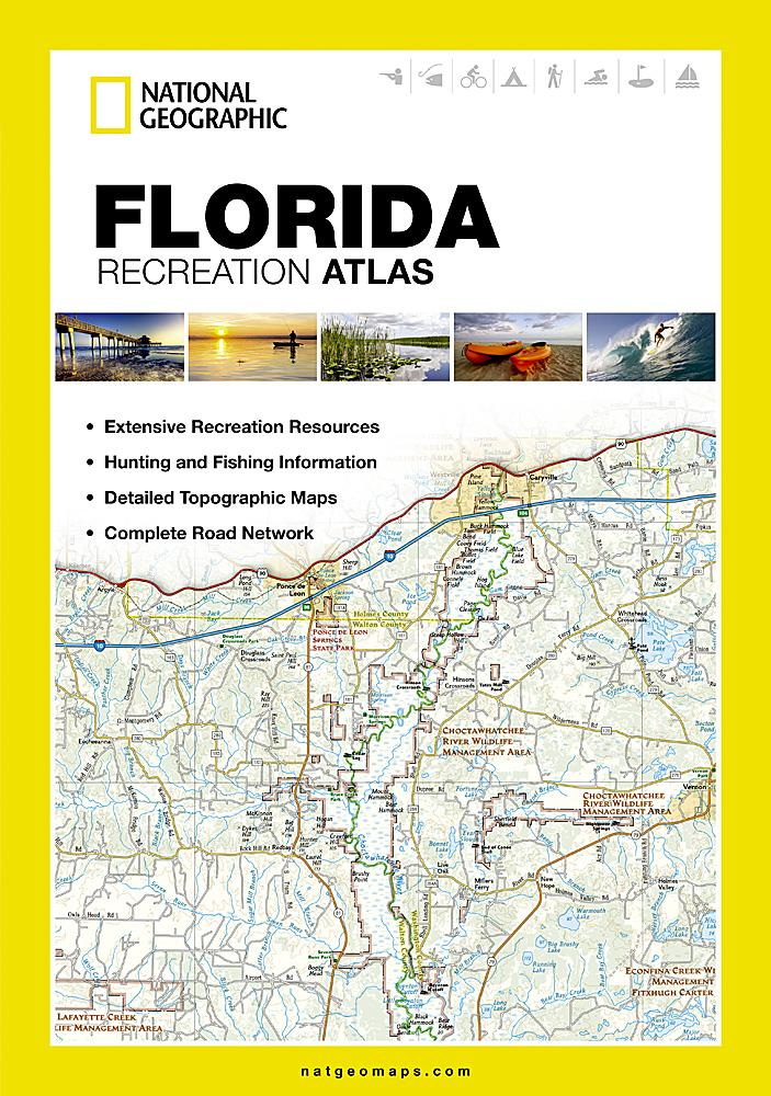 Florida Recreation Atlas Recreation Atlases EVMAPLINK