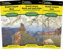Load image into Gallery viewer, Grand Canyon National Park [Map Pack Bundle] Trails Illustrated Maps Bundle EVMAPLINK