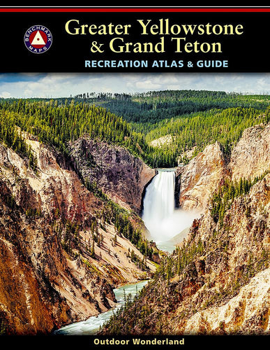 Greater Yellowstone & Grand Teton Recreation Atlas Benchmark Maps EVMAPLINK