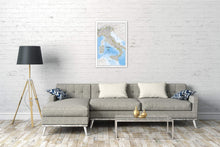 Load image into Gallery viewer, Italy Classic Wall Maps EVMAPLINK