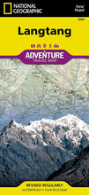 Load image into Gallery viewer, Langtang [Nepal] Adventure Maps EVMAPLINK