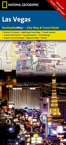 Las Vegas City Destination Maps EVMAPLINK