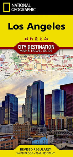 Los Angeles City Destination Maps EVMAPLINK
