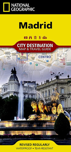 Madrid City Destination Maps EVMAPLINK