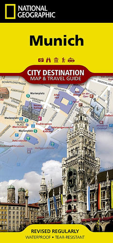 Munich City Destination Maps EVMAPLINK
