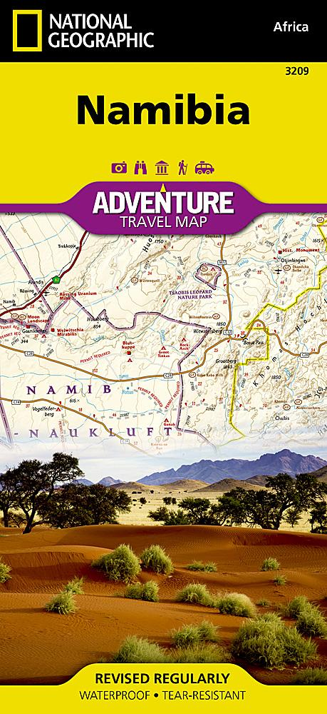 Namibia Adventure Maps EVMAPLINK