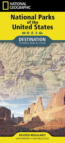 National Parks of the United States Destination Maps EVMAPLINK