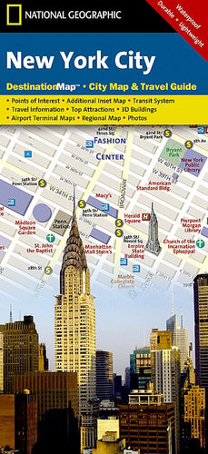 New York City City Destination Maps EVMAPLINK
