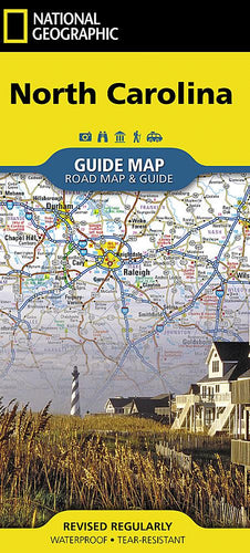 North Carolina Guide Maps EVMAPLINK