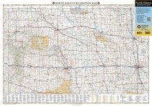 Load image into Gallery viewer, North Dakota Recreation Map Benchmark Maps EVMAPLINK