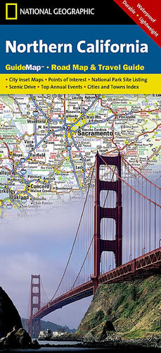 Northern California Guide Maps EVMAPLINK