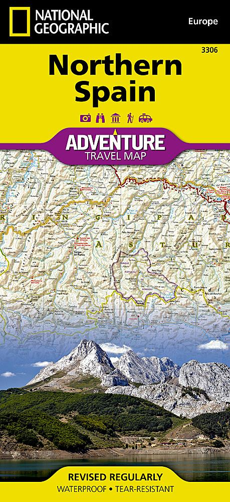 Northern Spain Adventure Maps EVMAPLINK