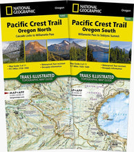 Load image into Gallery viewer, Pacific Crest Trail: Oregon [Map Pack Bundle] Trails Illustrated Maps Bundle EVMAPLINK