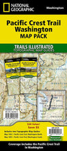 Load image into Gallery viewer, Pacific Crest Trail: Washington [Map Pack Bundle] Trails Illustrated Maps Bundle EVMAPLINK