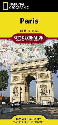 Paris City Destination Maps EVMAPLINK