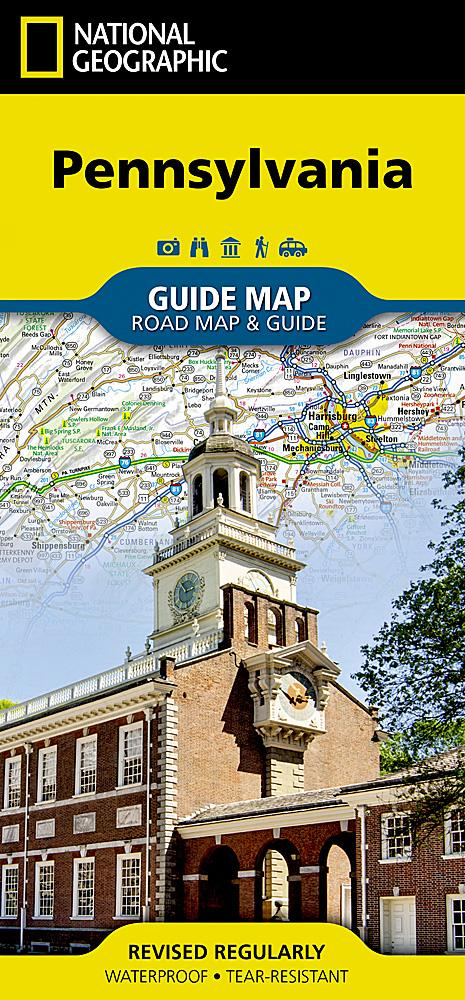 Pennsylvania Guide Maps EVMAPLINK