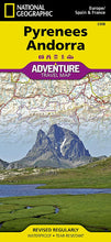 Load image into Gallery viewer, Pyrenees and Andorra Adventure Maps EVMAPLINK