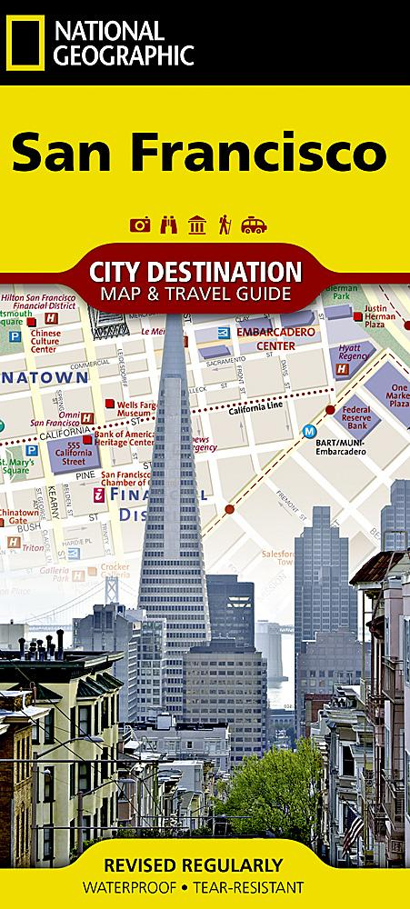 San Francisco City Destination Maps EVMAPLINK