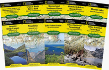 Load image into Gallery viewer, Sierra Nevada Trail Map Collection [boxed set] Trails Illustrated Maps Bundle National Geographic