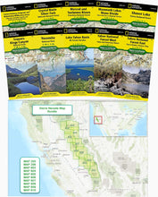 Load image into Gallery viewer, Sierra Nevada Trail [Map Pack Bundle] Trails Illustrated Maps Bundle National Geographic