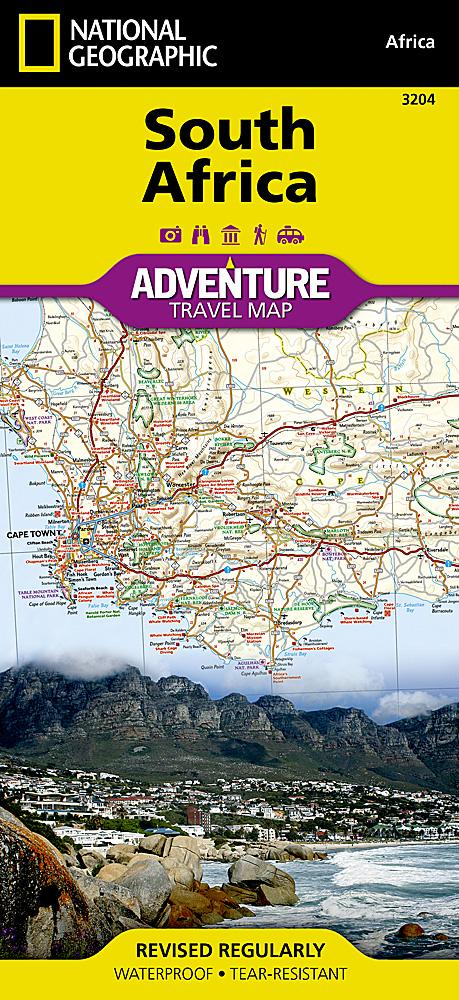 South Africa Adventure Maps EVMAPLINK