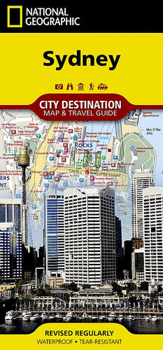 Sydney City Destination Maps EVMAPLINK
