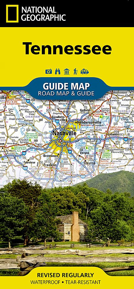 Tennessee Guide Maps EVMAPLINK
