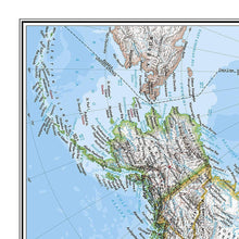Load image into Gallery viewer, The Americas Classic Wall Maps EVMAPLINK