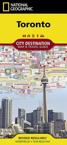 Toronto City Destination Maps EVMAPLINK