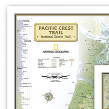 Load image into Gallery viewer, Triple Crown of Hiking Map [in gift box] Wall Maps EVMAPLINK
