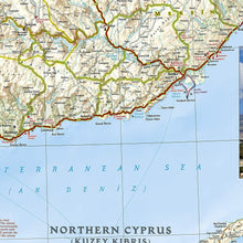 Load image into Gallery viewer, Turkey: Mediterranean Coast Adventure Maps EVMAPLINK